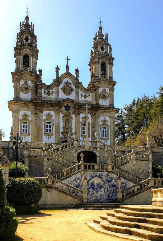 Lamego Remedios church,Portugal