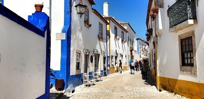 Obidos alleys,Portugal