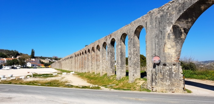 Obidos aquaduct,Portugal