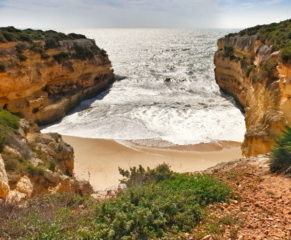 Secret Algarve beach, Portugal
