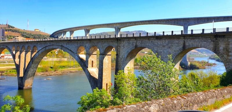 Regua bridges, Duoro valley, Portugal