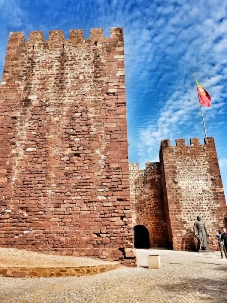 Silves 8th century Castle,Portugal