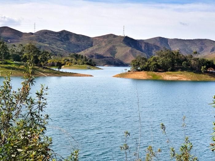 Silves Arade Reservoir, Portugal