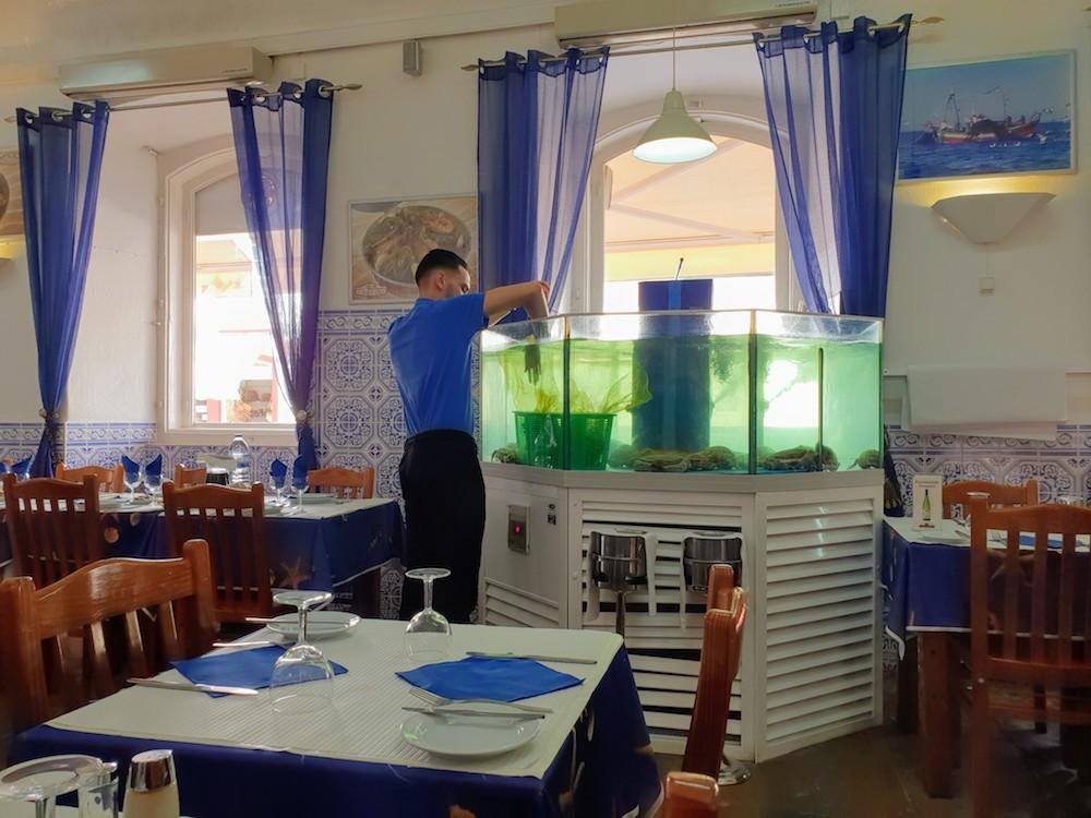 Silves Casa Velha restaurant,Portugal
