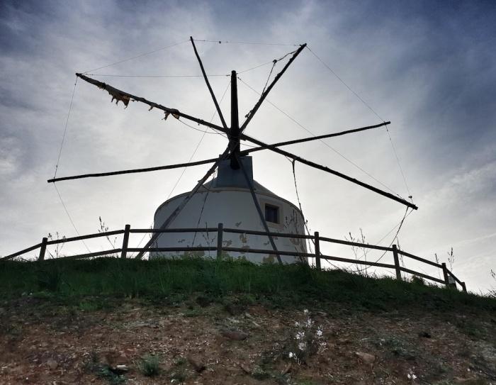 Silves Windmill,Portugal