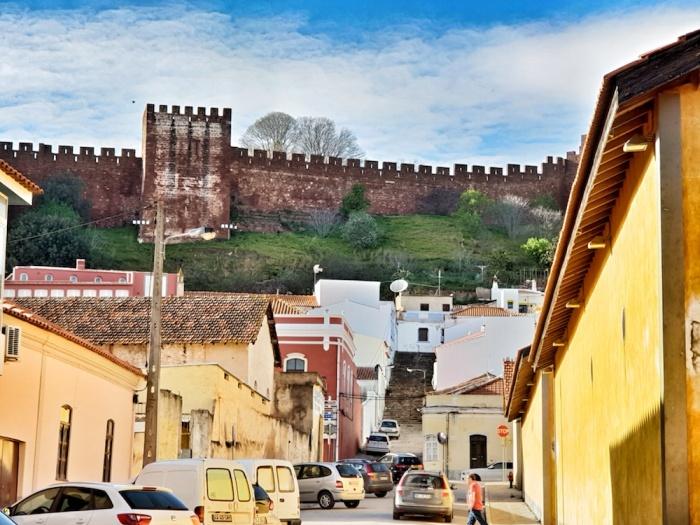 Silves castle view,Portugal