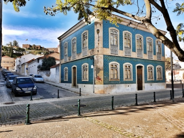 Silves house and castle, Portugal