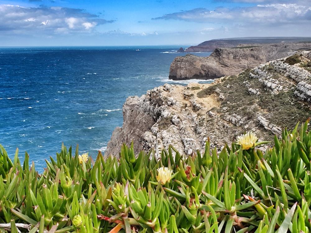 West Portugal coastal view