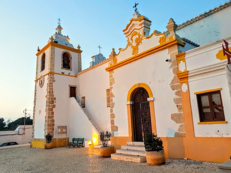 Alvor church, Portugal