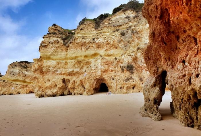 Alvor geology, Portugal
