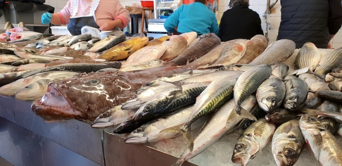 Costa Nova fish market,Portugal