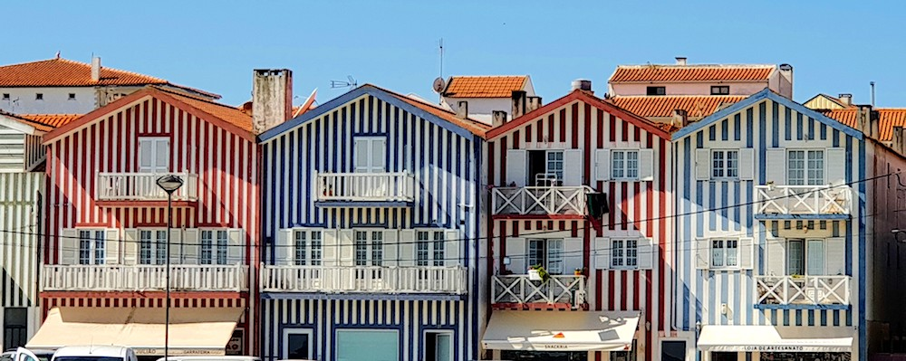 Costa Nova houses,Portugal