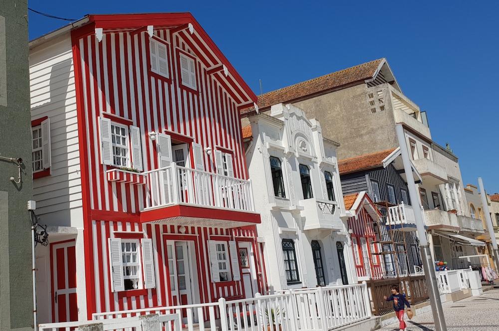 Costa Nova houses