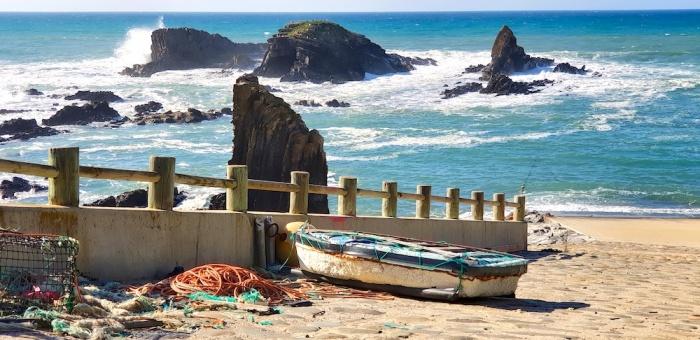 fisherman's port Almograve,Portugal