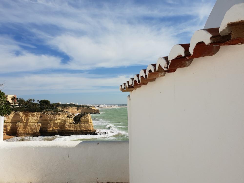 Looking east to Armacão de Pera, Portugal