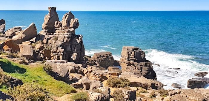 Peniche peninsula rocks,Portugal