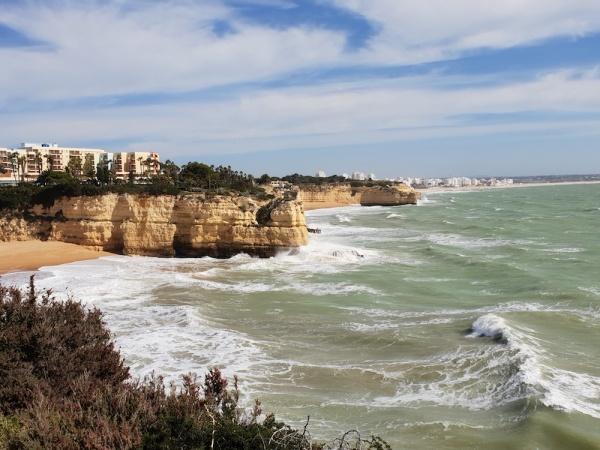 Looking east towards Pera, Portugal