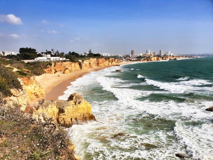 View to Portimão, Portugal