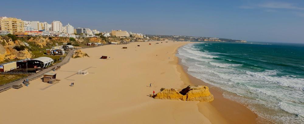 Portimão Praia de Rocha, Portugal
