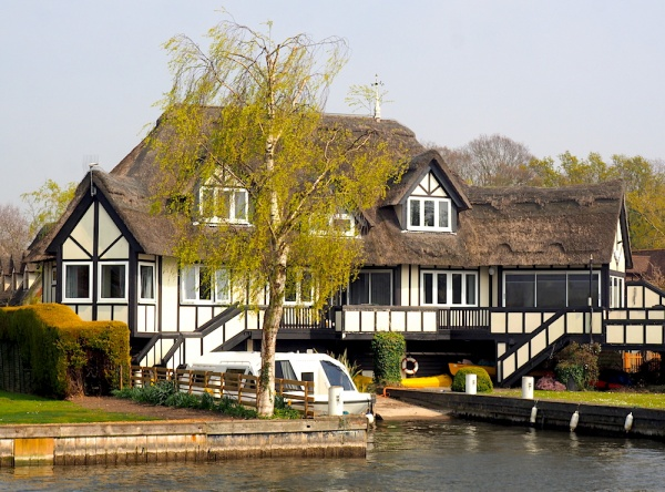 Norfolk Broad's house,Norfolk, UK