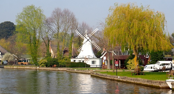 Norfolk Broad's windmill,Norfolk, UK