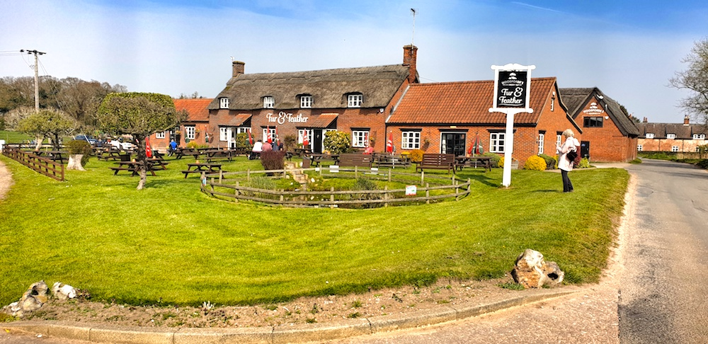 Norfolk village pubs and brewery