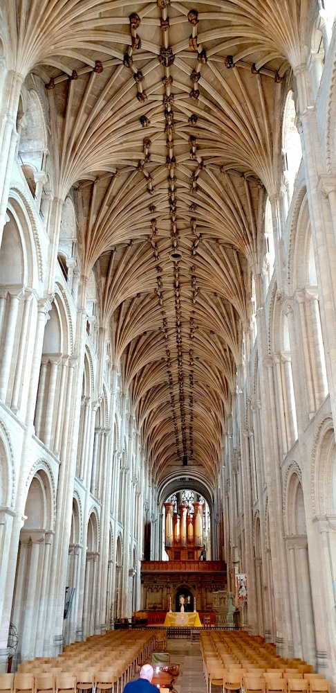 Norwich Cathedral inside,Norfolk, UK