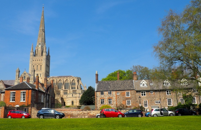 Norwich Cathedral,Norfolk, UK