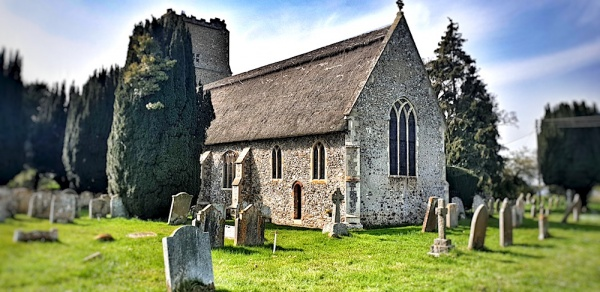 Salhouse Church, Norfolk, UK