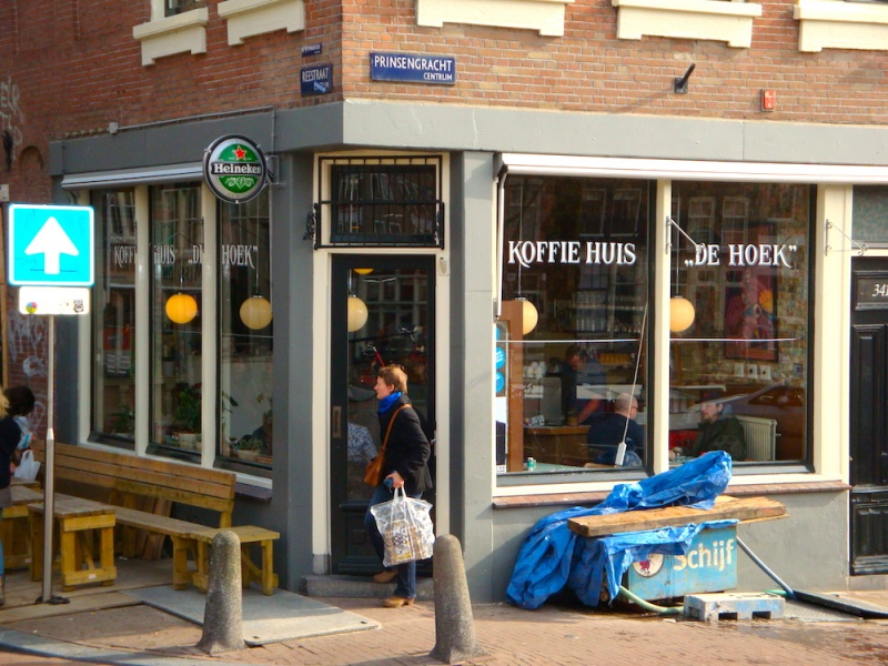 Amsterdam Koffie shop, The Netherlands