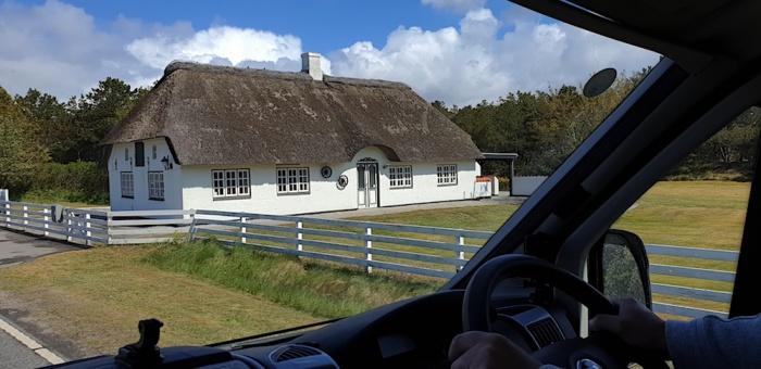 Danish thatch Rømø, Denmark