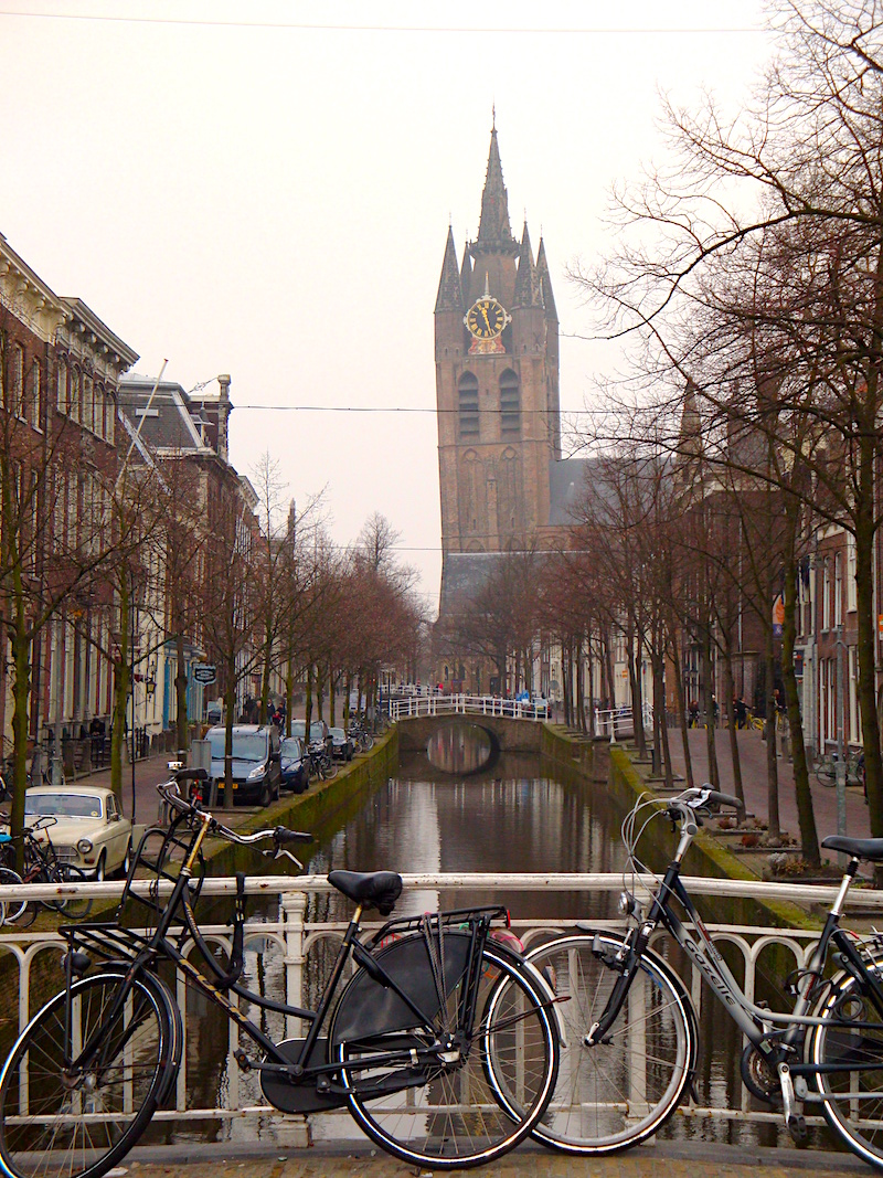 Delft's wonky church