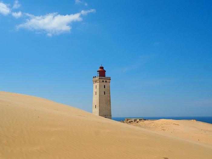 Rudbjerg Knude lighthouse, Denmark