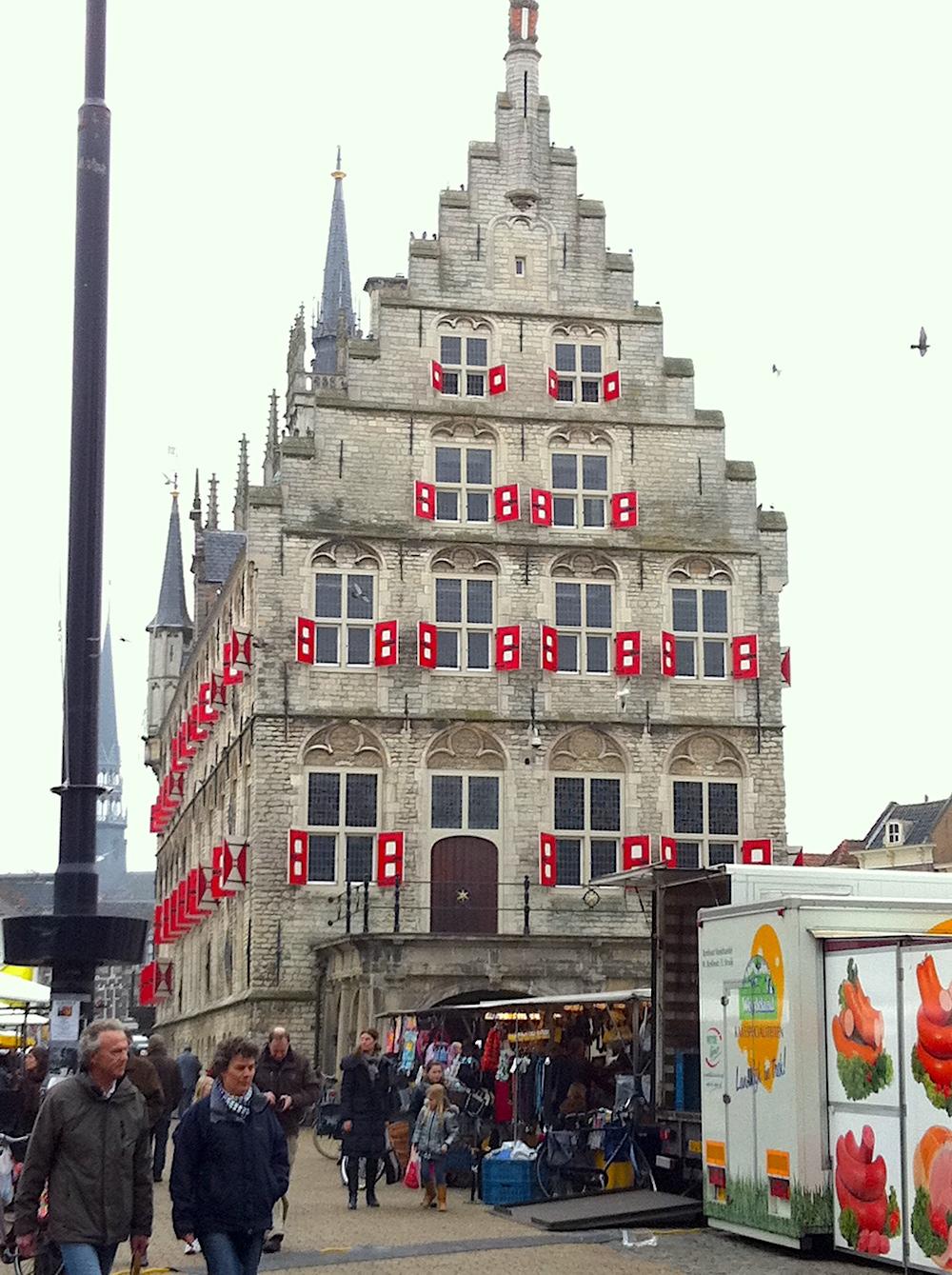 Gouda market square