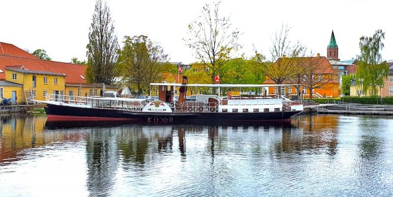 Hjejlen steamboat, Silkeborg, Denmark