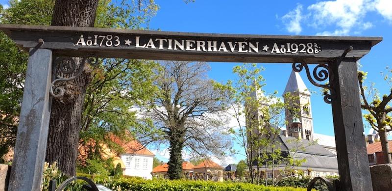 Latinhaven garden, Viborg, Denmark
