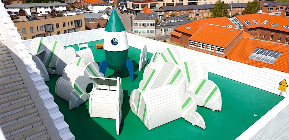 Lego House terraces