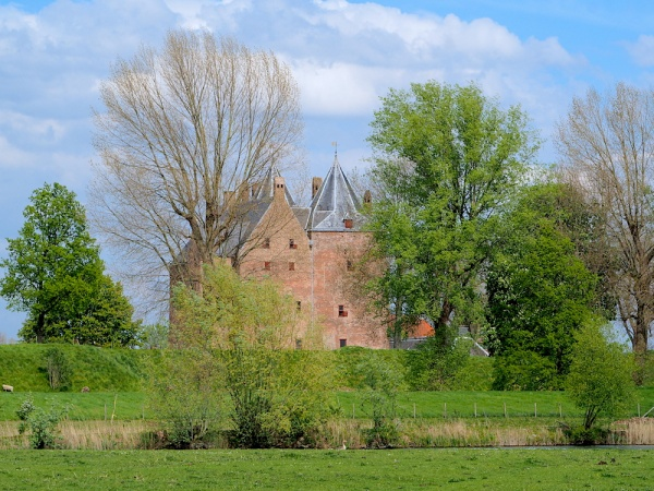 Loevestein Castle and fortress, The Netherlands