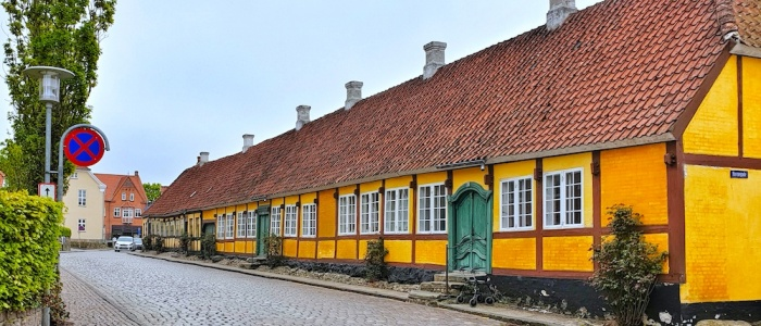 Mariager old town, Denmark