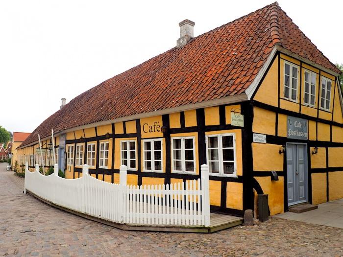 Mariager cafe, Denmark