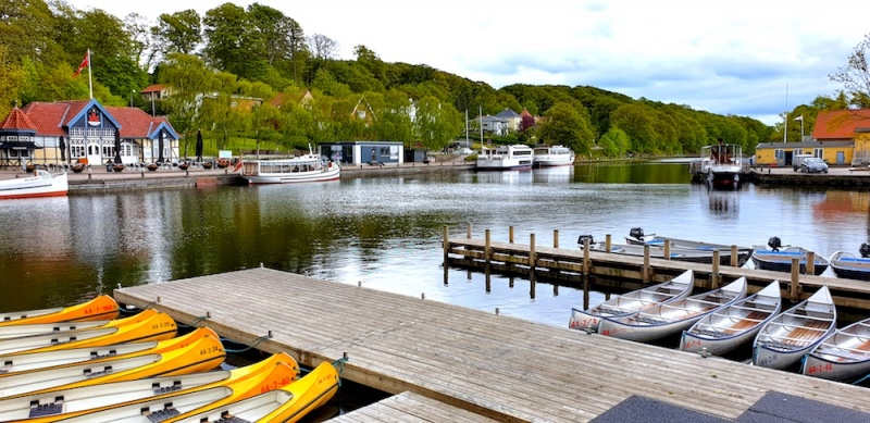 Silkeborg boat hire, Denmark