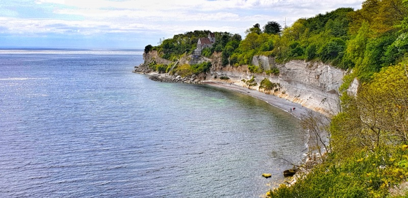 Stevns Klint Church, Denmark