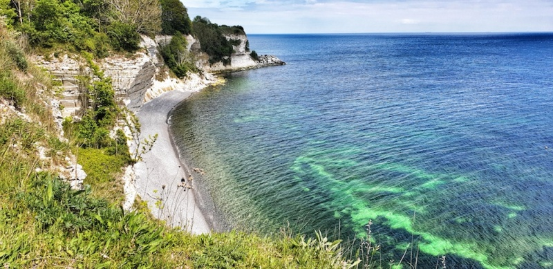 UNESCO cliffs Stevns Klint, Denmark