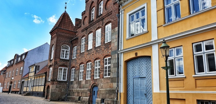Viborg old town, Denmark