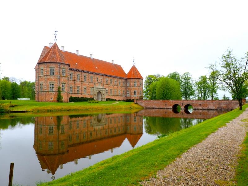 Voergaard Castle Jutland, Denmark