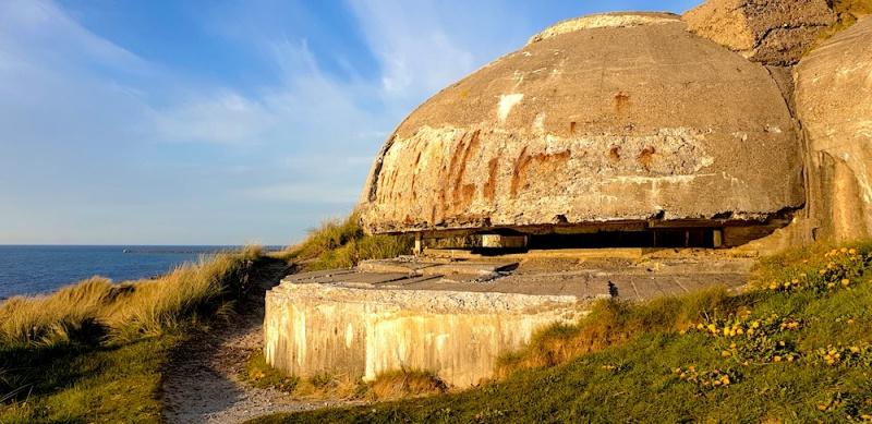 WW2 bunker Hirtshals, Denmark