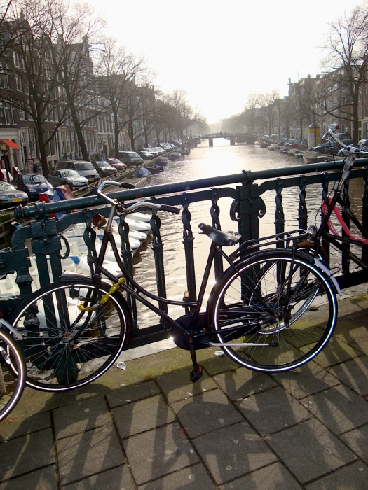 Amsterdam bicycles, The Netherlands