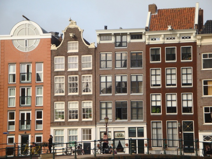Amsterdam houses,The Netherlands