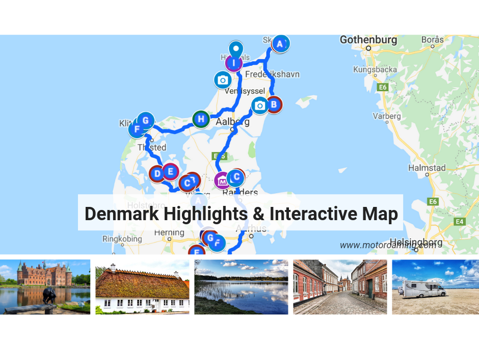 Denmark Highlights & Interactive Map