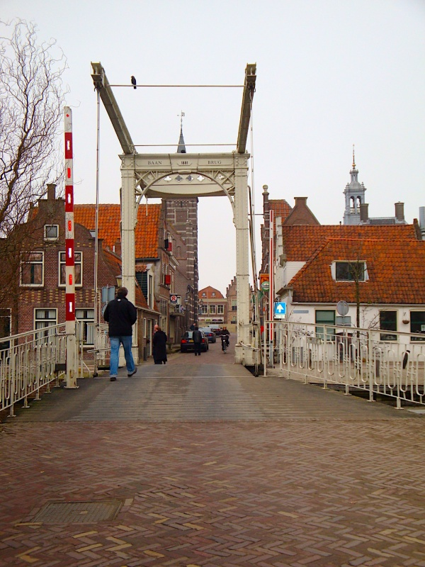 Edam bridge, Holland, The Netherlands